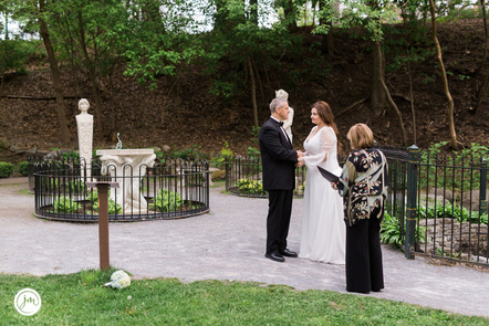 elope saratoga wedding officiant